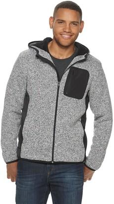 Apt. 9 Men's Mixed Media Hooded Sherpa Jacket