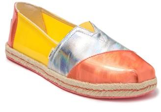Toms Alpargata Yellow Slip-On Sneaker