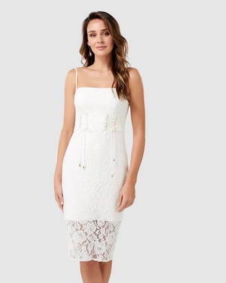 Forever New Emma Corset Front Lace Bodycon