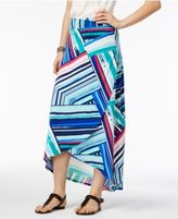 NY Collection Petite High-Low Skirt