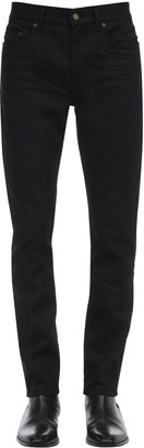 Saint Laurent 16cm Skinny Stretch Cotton Jeans