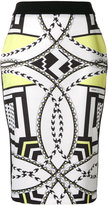Versace printed pencil skirt - women - Polyamide/Spandex/Elastane/Viscose - 38
