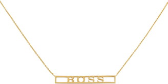 Uncommon James by Kristin Cavallari Boss Bar Pendant Necklace