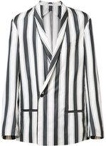 Haider Ackermann shawl lapel boxy blazer - men - Rayon/Cotton/Acetate/Silk - 44