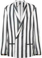 Haider Ackermann shawl lapel boxy blazer
