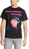 Bravado Men's Black Sabbath Paranoid Motion Trails T-Shirt
