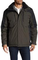Hawke & Co Hooded Front Zip Outerwear Jacket