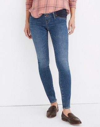 Madewell Maternity Side-Panel Skinny Jeans in Wendover Wash: Adjustable TENCEL Denim Edition