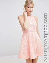 Asos Jacquard Mini Dress