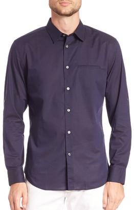 John Varvatos Adjustable Sleeve Slim Fit Shirt