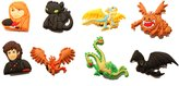 Hermes 8 pcs How to Train Your Dragon # 2 Shoe Charms / 8 pieces Jeu des Charmes de Chaussure