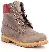 "Timberland Women's Premium 6"" Waterproof Lace-Up Boots"