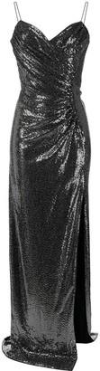 Azzaro Sweetheart-Neck Sequin Gown
