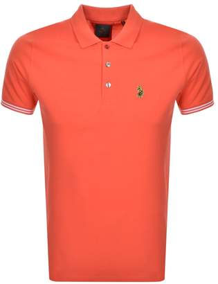 Luke 1977 New Mead Polo T Shirt Red