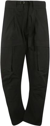 Bottega Veneta Side Cargo Pocket Long Trousers
