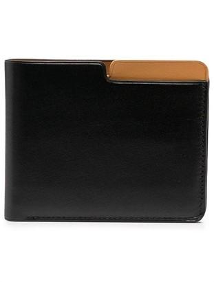 Isaac Reina Calf Leather Billfold Wallet
