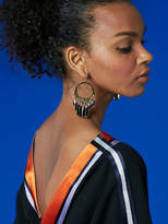 Diane von Furstenberg Tassel Fringed Earrings