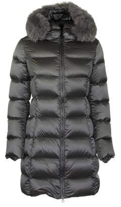 Colmar Glossy Long Down Jacket Grey