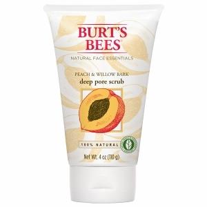 Burt's Bees Peach & Willowbark, Deep Pore Scrub
