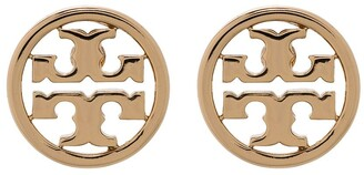 Tory Burch Miller round stud earrings