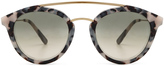 Westward Leaning Double Bridge Sunglasses