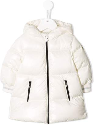 Moncler padded hooded coat