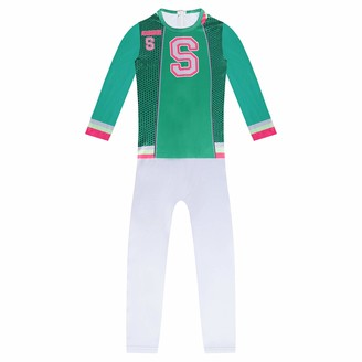 Y2M Boy's Halloween Clothes Suit Green 6-7 Years