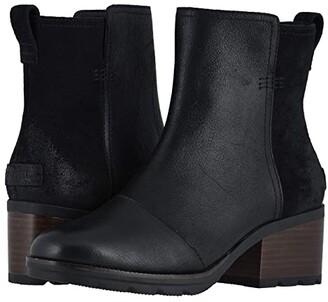 Sorel Cate Bootie (Black) Women's Boots