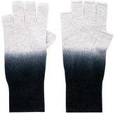 Autumn Cashmere Dip Dye Fingerless Gloves