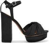 Loeffler Randall Arabella canvas platform sandals