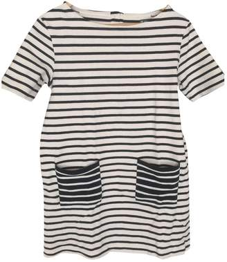 Petit Bateau Beige Cotton Dress for Women