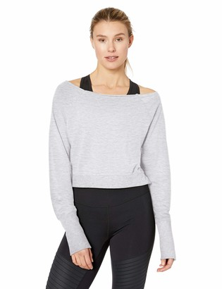 Soffe Womens Plus Size Dance Crew Pullover Crop