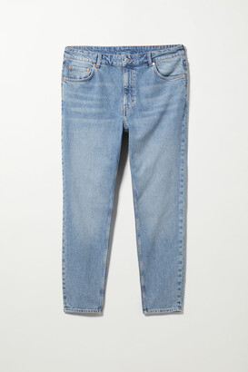 Weekday Mika High Slim Mom Jeans Ext - Blue