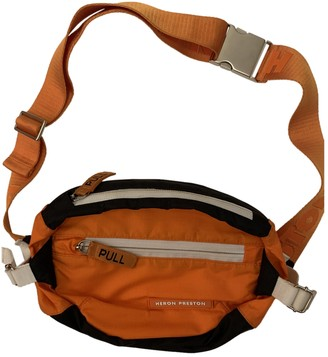 Heron Preston Orange Synthetic Belt Bags