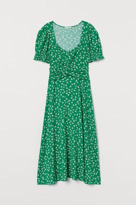 H&M MAMA Patterned Jersey Dress