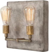 Andrew Martin Cameron Wall Light Factory Sconce In Aged Brass