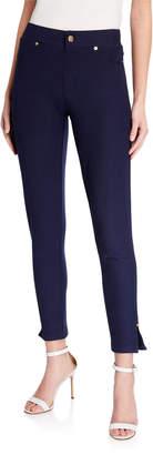 MICHAEL Michael Kors Pull-On Leggings with Side Slit