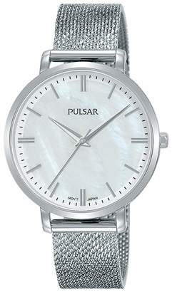 Pulsar Women's Analogue Quartz Watch with Stainless Steel Strap 1