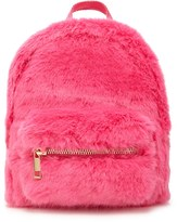 Forever 21 FOREVER 21+ Faux Fur Mini Backpack