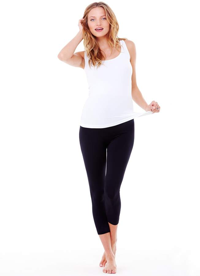 Ingrid & Isabel Women's Maternity Capri Belly Legging