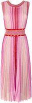 Missoni scoop neck midi dress - women - Polyester/Cupro/Viscose - 42