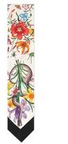 Gucci Women's Flora Snake Silk Scarf