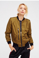 Blank NYC Womens SHE'S A TOAD BOMBER