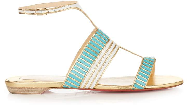 Christian Louboutin Very Sekmet leather sandals