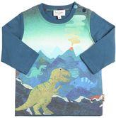 Paul Smith Dinosaurs Print Cotton Jersey T-Shirt