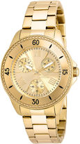 Invicta Angel Womens 18K Yellow Gold Ion Plated Stainless Steel Bracelet Watch