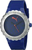 Puma Women's PU103432003 Blast S Analog Display Quartz Blue Watch