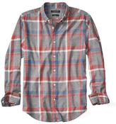 Banana Republic Grant-Fit Luxe Flannel Large Plaid Shirt