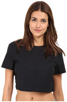 Marc by Marc Jacobs Tie Back Cropped Top