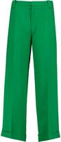 Roland Mouret Rew cropped crepe wide-leg pants